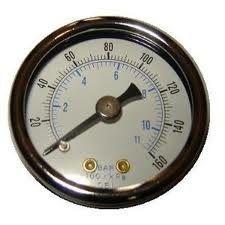 melhor Os calibres de pressão digitais do compressor de ar, líquido encheram o calibre de pressão