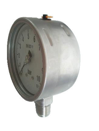 304  Stainless Steel Pressure Gauges for corrosive environments